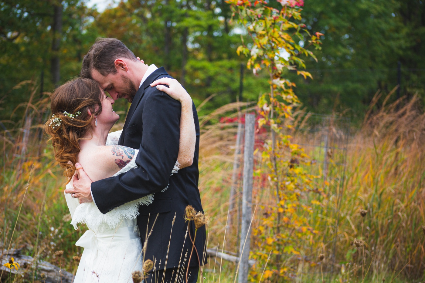 Kelly + Chris at Acacia Reservation in Lyndhurst, Ohio
