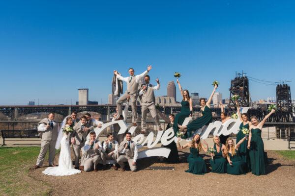 Marissa and Zac Bridal Party
