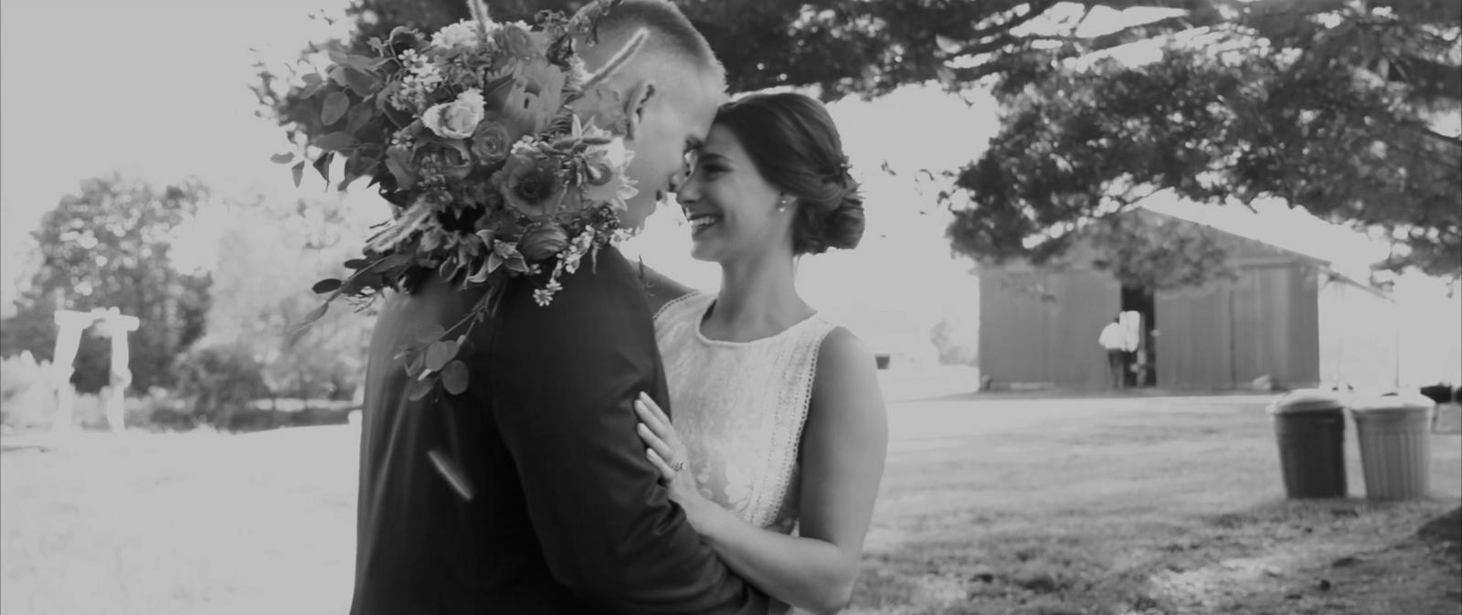 Joshua + Kynslie Backyard Wedding Anniversary
