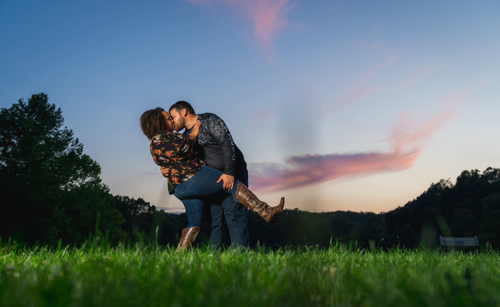 Patricia Sean + Ryan's Summer Engagement Session